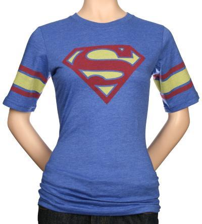 Juniors: Superman Hockey Tee