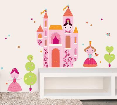 Geraldine Cosneau Princess Wall Stickers