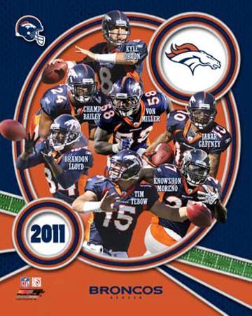 Denver Broncos 2011 Team Composite