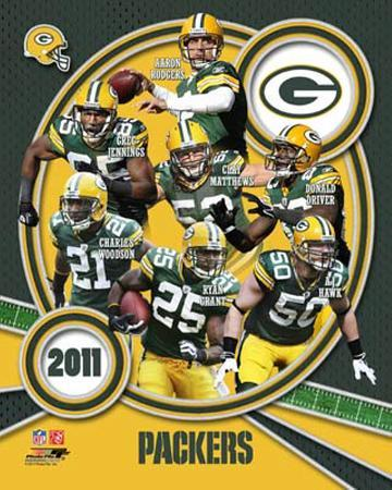 Green Bay Packers 2011 Team Composite