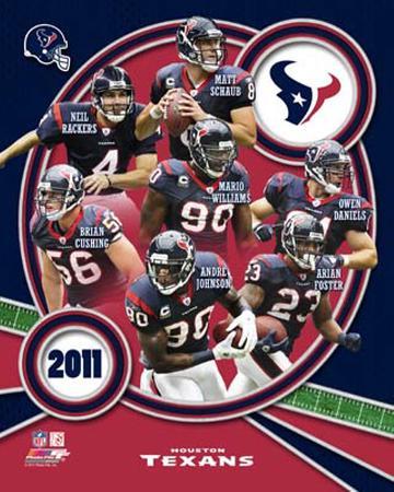 Houston Texans 2011 Team Composite
