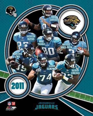 Jacksonville Jaguars 2011 Team Composite