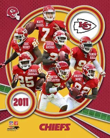 Kansas City Chiefs 2011 Team Composite
