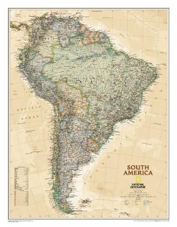 National Geographic South America Executive Style
