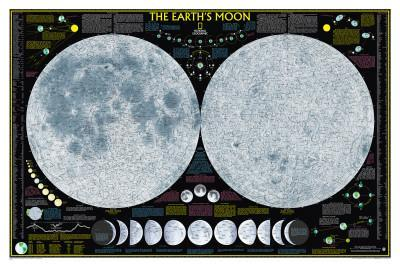 National Geographic Earth's Moon