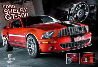 Mustang-GT 500-3D