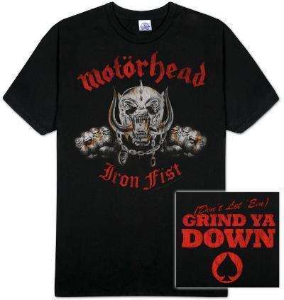 """Motorhead - Iron """"Double Fisted"""" Fist"""
