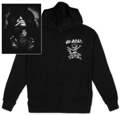 Zip Hoodie: Slash - Smokin'