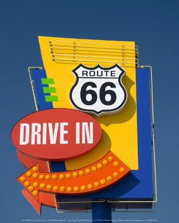 Route 66, Drive In