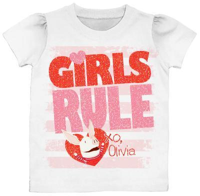 Toddler: Olivia - Girls Rule
