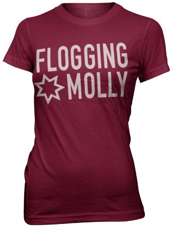 Juniors: Flogging Molly - Girls Star Logo