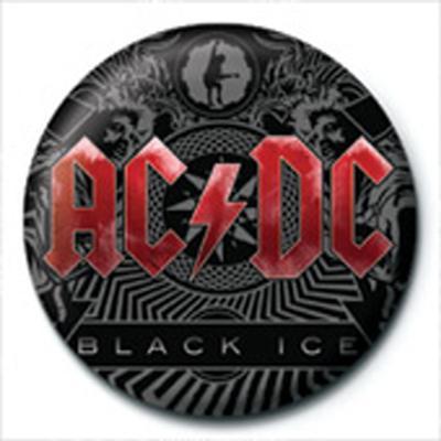 AC/DC - Black Ice Badge Button