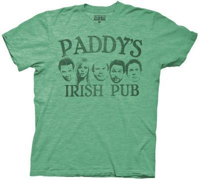 It's Always Sunny in Philadelphia - Paddy's Pub with Faces (Slim Fit)