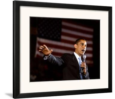 Barack Obama Aberdeen Civic Arena May 31, 2008 in Aberdeen, South Dakota