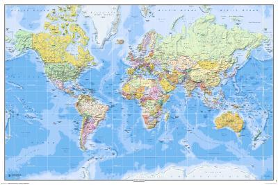 World Map-2011 English