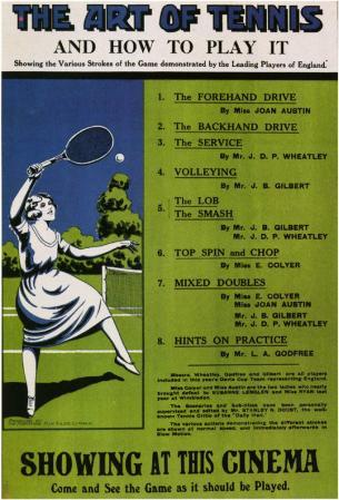 Art of Tennis and How to Play It