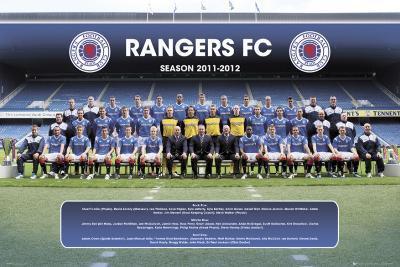 Rangers-Team Photp 2011-2012