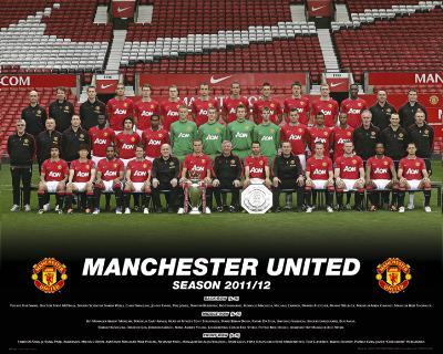 Manchester United-Team Photo 2011-2012