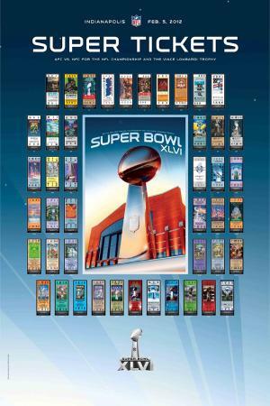 Super Tickets XLIVI - 2012