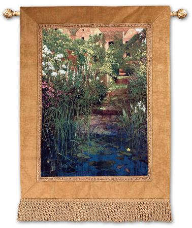 Steps to the Lily Pond