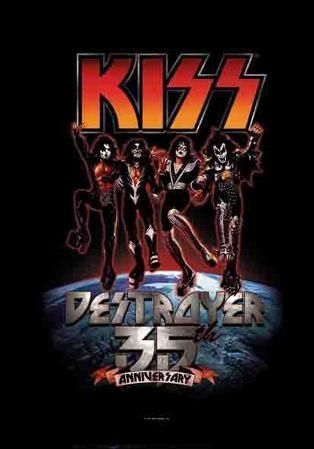 KISS - 35th Anniversary Destroyer