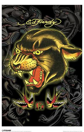 Ed Hardy - Panther 13