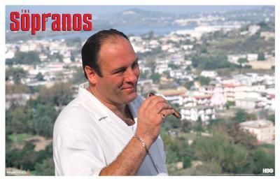Sopranos - Tony in Italy