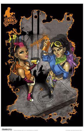 Spray Ground - Graffiti Girls