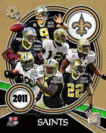 New Orleans Saints 2011 Team Composite