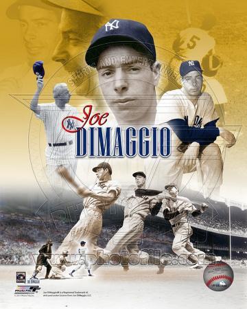 Joe Dimaggio Legends Composite