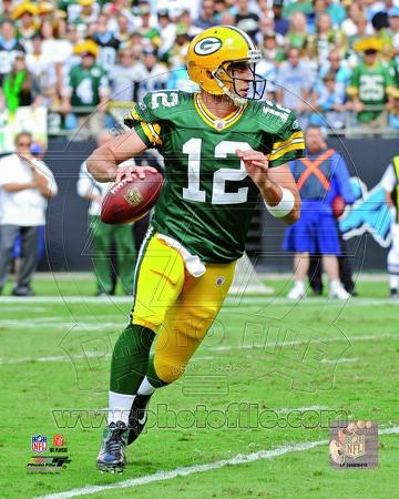 Aaron Rodgers 2011 Action