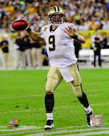 Drew Brees 2011 Action