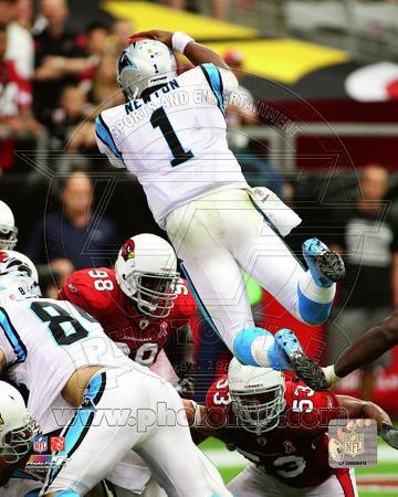 Cam Newton 2011 Action