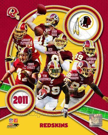 Washington Redskins 2011 Team Composite