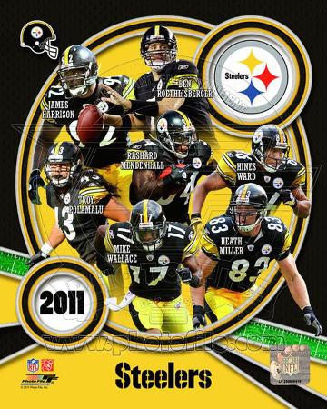 Pittsburgh Steelers 2011 Team Composite