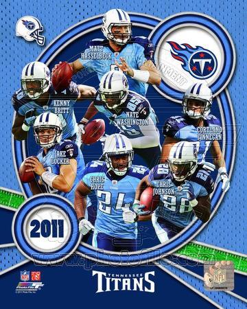 Tennessee Titans 2011 Team Composite