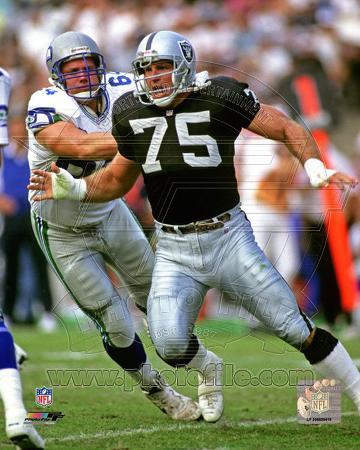 Howie Long 1992 Action
