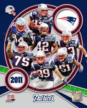New England Patriots 2011 Team Composite