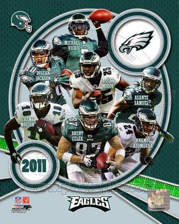 Philadelphia Eagles 2011 Team Composite