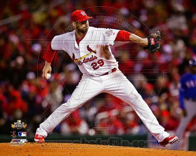 Chris Carpenter Game 1 of the 2011 World Series Action (#2)