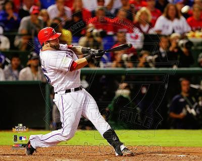 Mike Napoli 3 run home run Game 4 of the 2011 MLB World Series Action (#17)