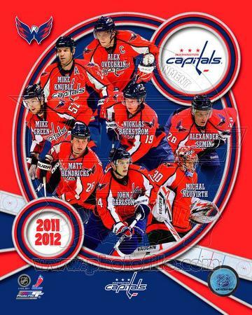 Washington Capitals 2011-12 Team Composite