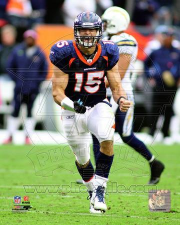 Tim Tebow 2011 Action