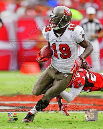 Mike Williams 2011 Action