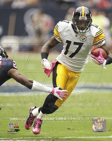 Mike Wallace 2011 Action