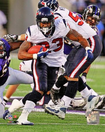 Arian Foster 2011 Action