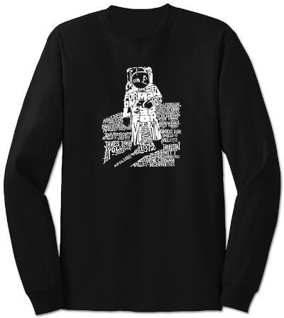 Long Sleeve:  Astronaut
