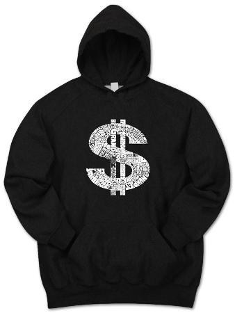 Hoodie: Dollar Sign