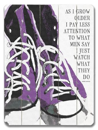 As I grow older (Purple)