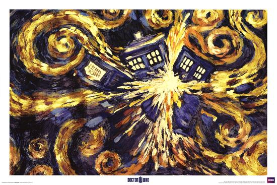 Doctor Who Exploding Tardis Posters At Allposters